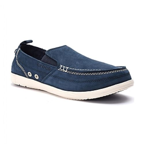 סניקרס גברים Crocs קרוקס דגם Harborline Nubuck Loafer