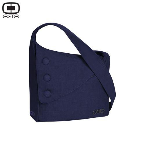 """OGIO BROOKLYN PURSE - תיק צד """"ברוקלין"""" בצבע כחול סגול"""