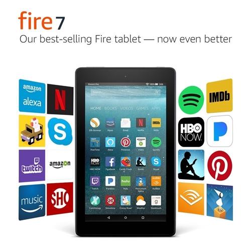 """טאבלט New Amazon Fire Tablet 7"""" Tablet 8G"""
