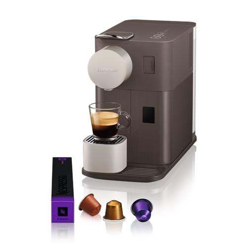 מכונת קפה NESPRESSO לטיסימה One בצבע חום מוקה