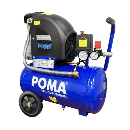 קומפרסור/ מדחס אוויר 24 ליטר מצויד במפסק הגנה POMA