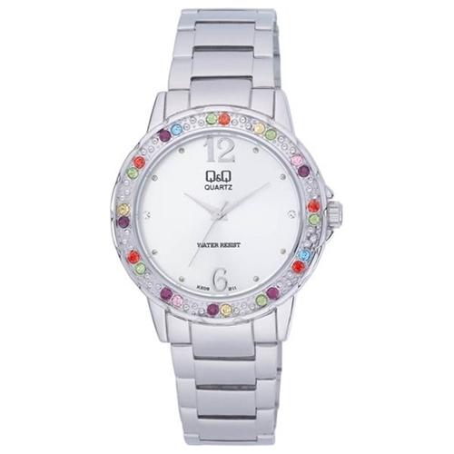 שעון יד לאשה מבית Q&Q עשוי מתכת