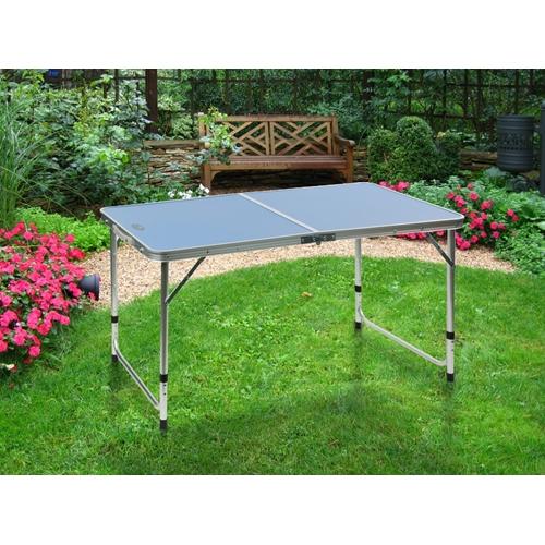 שולחן פיקניק איכותי ויציב במיוחד ממתכת שמתקפל למזוודה