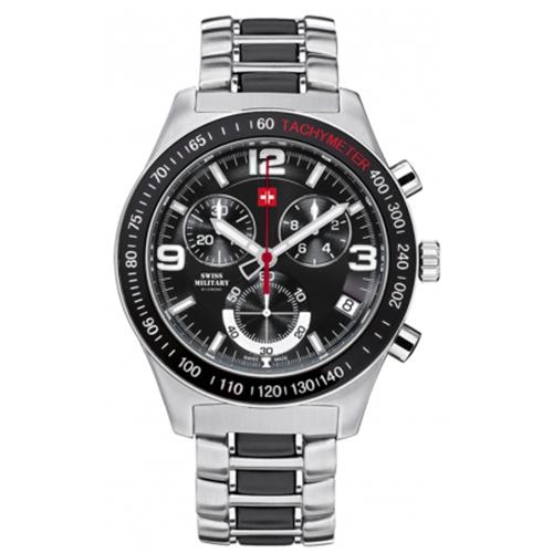 שעון יד כרונוגרף SM3401602 SWISS MILITARY