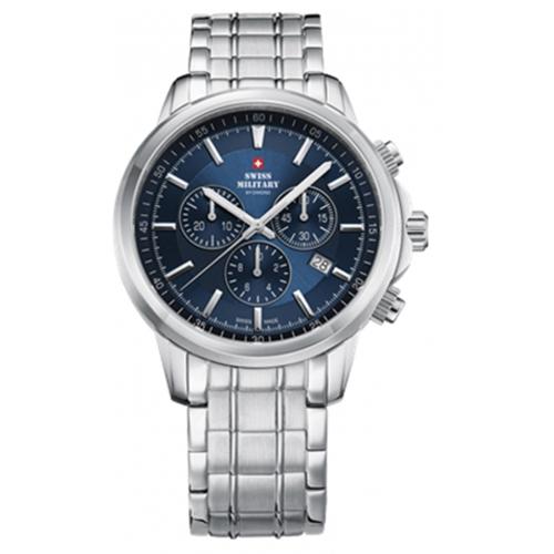 שעון יד כרונוגרף אופנתי SM3405203 SWISS MILITARY