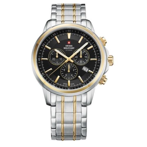 שעון יד כרונוגרף SM3405204 SWISS MILITARY