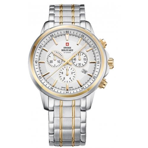 שעון יד כרונוגרף SM3405205 SWISS MILITARY