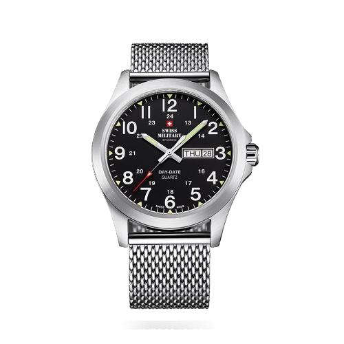 שעון יד לגבר SMP3604013 SWISS MILITARY מנגנון DAY-DATE