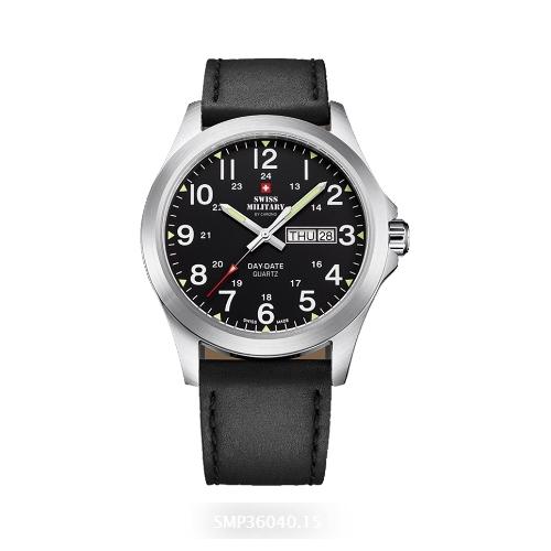 שעון יד לגבר SMP3604015 SWISS MILITARY מנגנון DAY-DATE