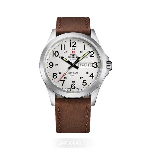 שעון יד לגבר SMP3604016 SWISS MILITARY מנגנון DAY-DATE
