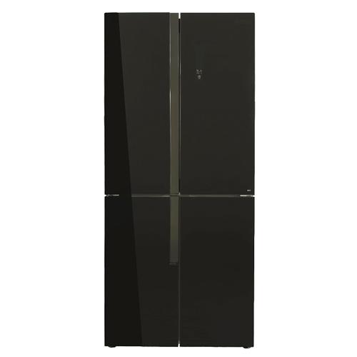 מקרר 4 דלתות זכוכית שחורה 422 ליטר לקאזה MRF-440WB