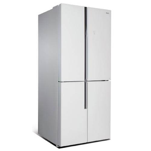 מקרר 4 דלתות זכוכית לבנה 422 ליטר לקאזה MRF-440W