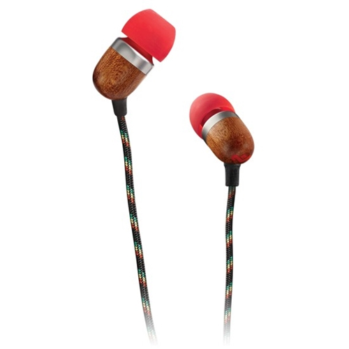 אוזניות חוטיות Marley דגם SMILE JAMAICA צבע לבחירה