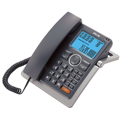 טלפון שולחני עם צג רחב ושיחה מזוהה Alcom GCE-5933
