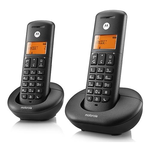 טלפון אלחוטי דיגיטלי עם שלוחה Motorola E202