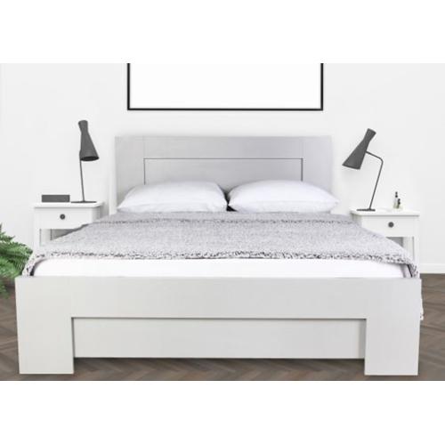מיטה זוגית מעוצבת עם מזרן אורטופדי מבית Olympia
