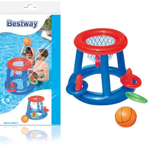 כדורסל מתנפח צף לבריכה לכל המשפחה מבית BESTWAY