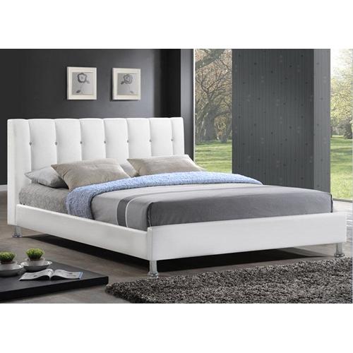 מיטה זוגית דגם BYANCA מעור אמיתי מבית GAROX