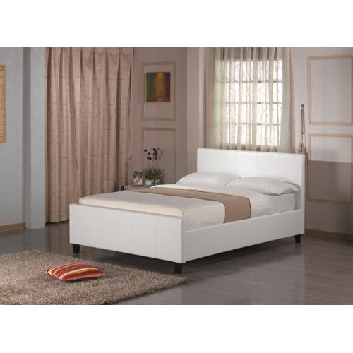 מיטת זוגית כוללת ארגז מצעים דגם BLANCO מבית GAROX