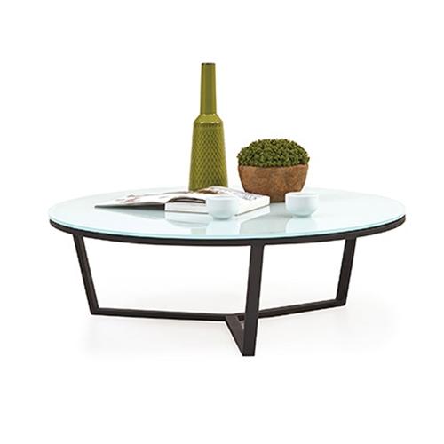 שולחן סלון עגול יוקרתי קוטר 60 ARMIN מבית BRADEX