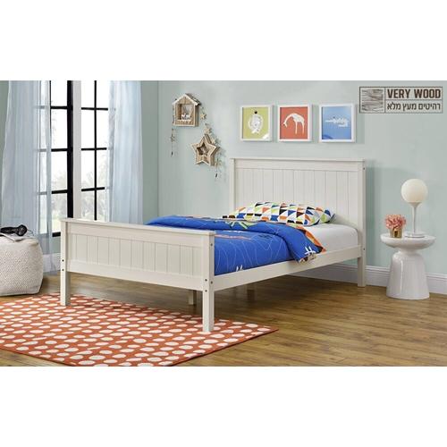 מיטה רחבה לנוער מסדרת VERY WOOD מבית HOME DECOR