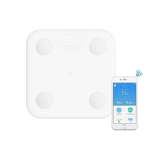 משקל חכם דור 2- מדידה חכמה של 10 פרמטרים Xiaomi