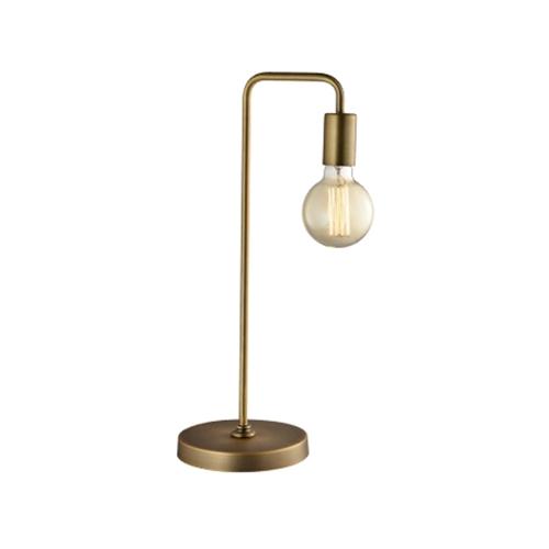 מנורת שולחן בסגנון תעשייתי ביתילי