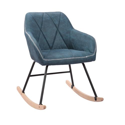 כורסא מעוצבת עם רגלי נדנדה דגם יניב HOME DECOR