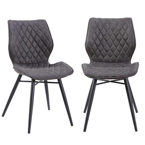 זוג כיסאות לפינת אוכל דגם רונן מבית HOME DECOR
