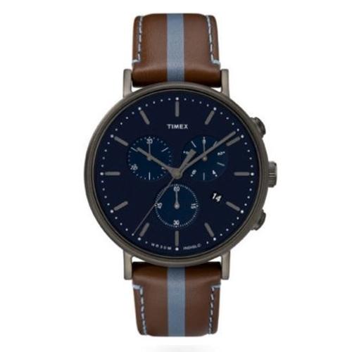 שעון יד כרונוגרף מודרני לגבר מבית TIMEX