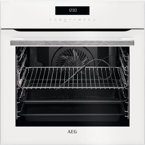 תנור רב-תכליתי בנפח 71 ליטר בצבע לבן מבית AEG