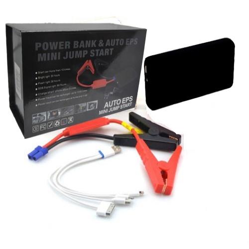 בוסטר הנעה לרכב 12,000mAh + פנס + יציאות USB