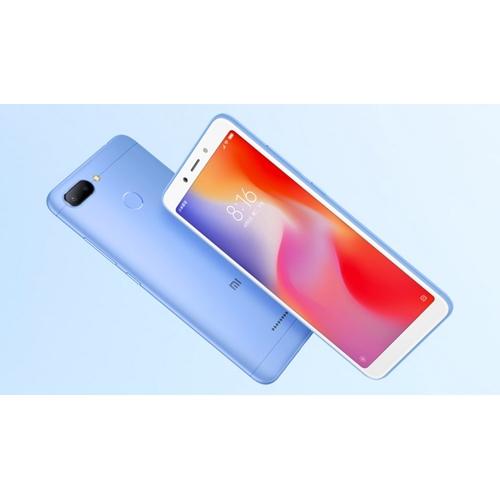סמארטפון Xiaomi Redmi 6 64GB כולל חיישן אצבע