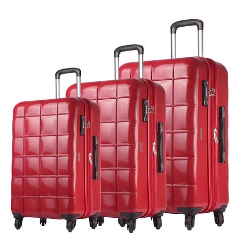סט מזוודות קשיחות 28″ 24″ 20″ ECHOLAC CHOCOLATE