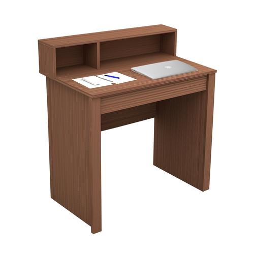 שולחן כתיבה בעיצוב מודרני עם משטח נפתח הכולל מראה