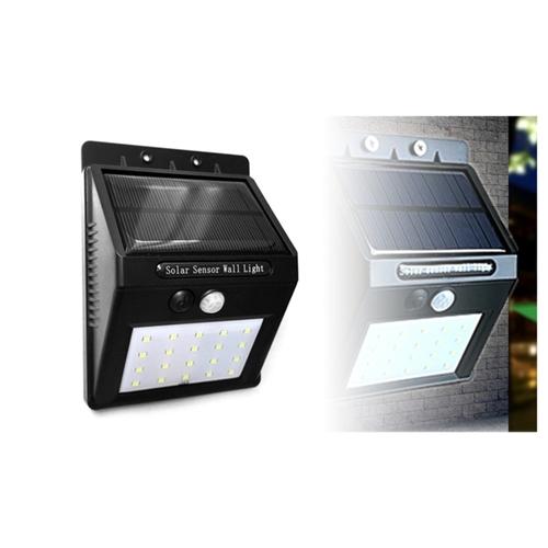 תאורת לד COB סולארית עוצמתית עם חיישן תנועה מובנה