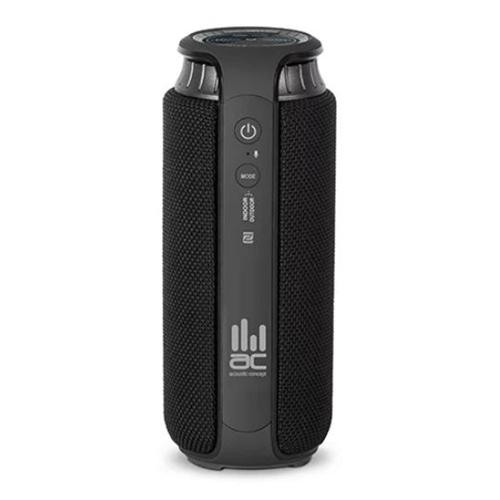 רמקול נייד אלחוטי אלגנטי Hi-Fi בצבע אפור עמיד במים