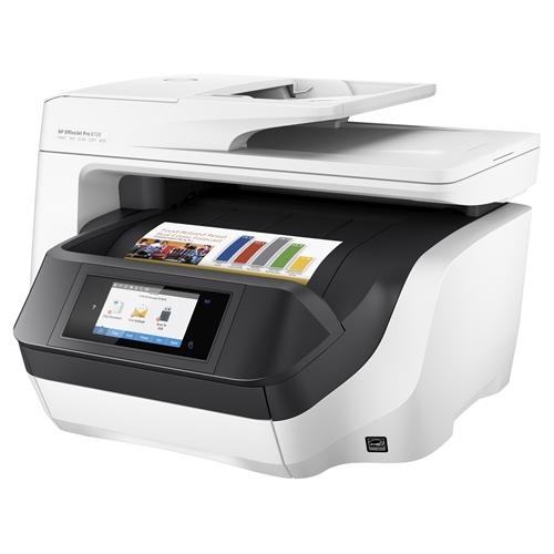 מדפסת דיו Officejet Pro 8720 All-in-One מבית HP