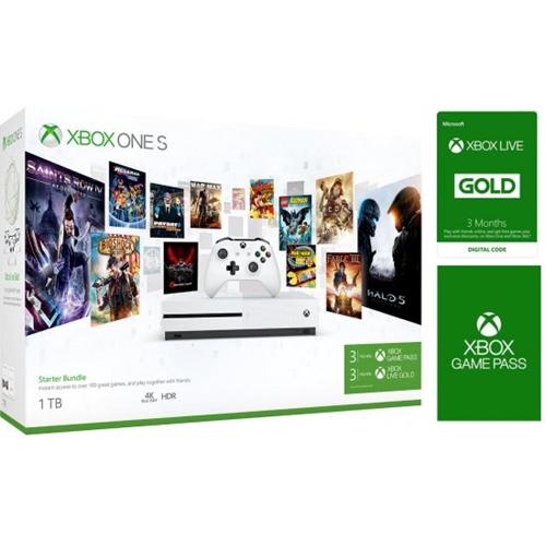 חיסול יחידה אחרונה! קונסולת Xbox One S 1TB + מתנה!