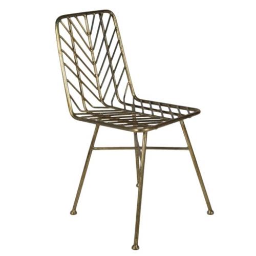כיסא לפינת אוכל עשוי ברזל דגם מאל ביתילי