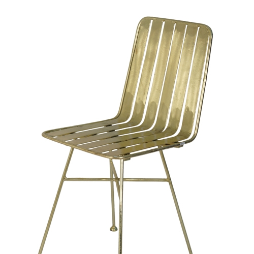 סט 4 כיסאות לפינת אוכל עשוים ברזל דגם שברון ביתילי