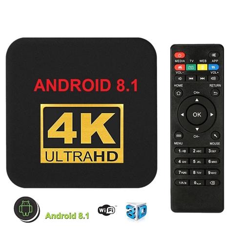 סטרימר ANDROID TV BOX 4K ULTRA כולל מגוון תוכנות