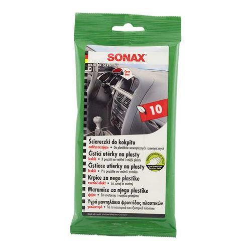 מגבונים לניקוי פנים הרכב SONAX