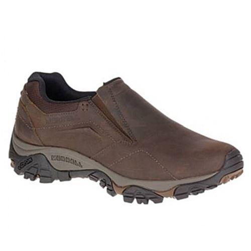 נעלי הליכה וטיולים עור גברים Merrell מירל דגם Moab Advent...
