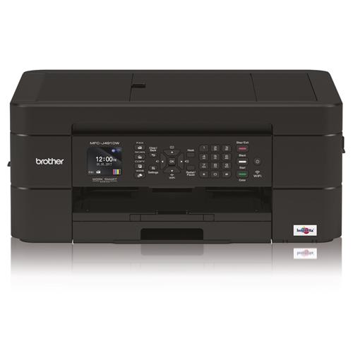 מדפסת צבעונית משולבת MFCJ491DW Black הזרקת דיו