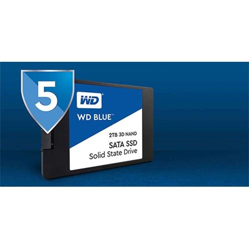 כונן פנימי 3D NAND SATA SSD מסדרת ™2TB WD Blue