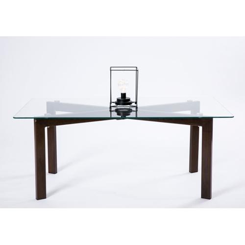 שולחן קפה מלבני זכוכית מעוצב ומודרני מבית TAKE IT