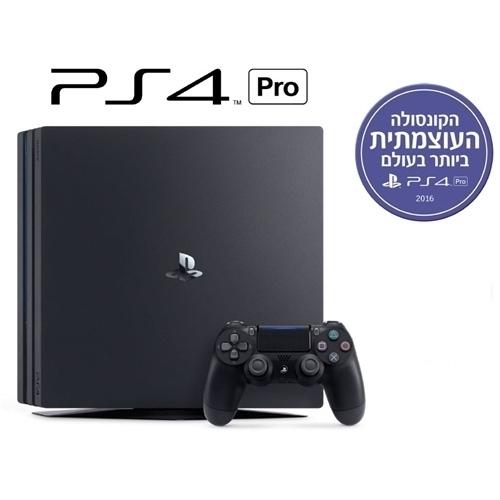 קונסולת PlayStation 4 Pro + הטבה לרוכשים !!!