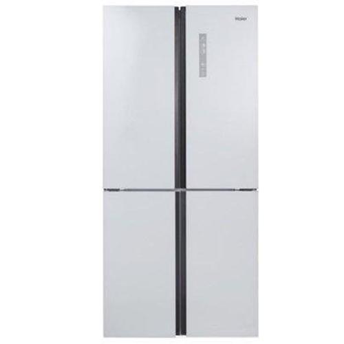 מקרר 4 דלתות בנפח 447 ליטר זכוכית לבנה HRF457FW