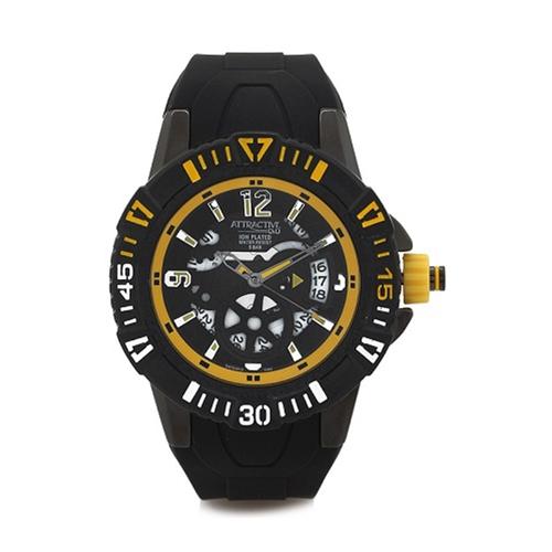 שעון יד מתכתי בעיצוב ספורטיבי לגבר מבית Q&Q